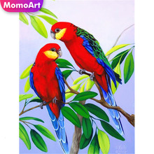 MomoArt 5D Full Drill Square Diamond Painting Animal Bird Embroidery Cross Stitch Picture Of Rhinestone Wall Decoration