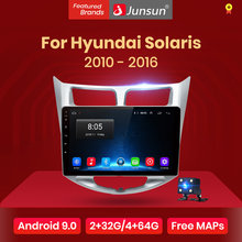 Junsun V1 2G + 32G Android 9.0 DSP Radio Multimedia Video Player Per Hyundai Solaris 1 2010 -2016 di Navigazione GPS 2 din No DVD(China)