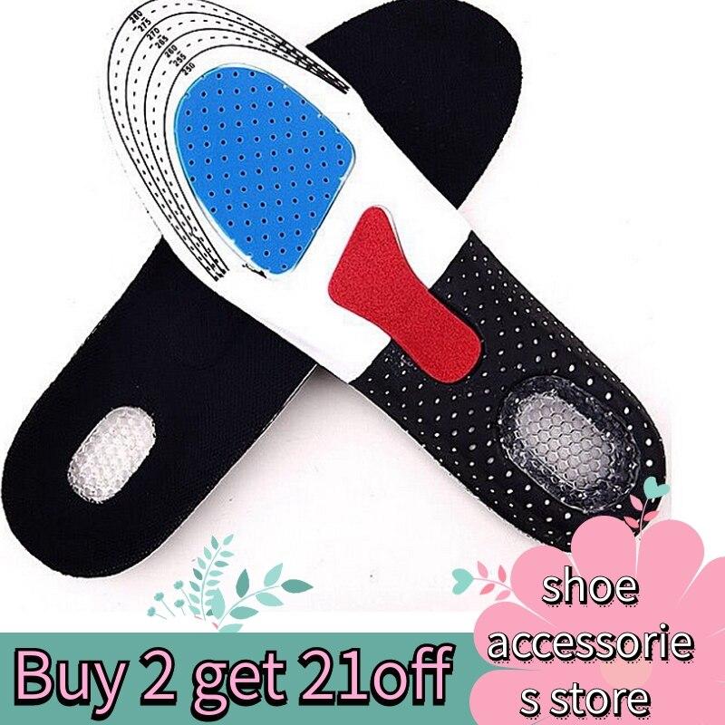 Силиконовые стельки для обуви, стельки с поддержкой стопы, стельки для спортивной обуви унисекс, уплотненные амортизирующие стельки для обуви, мягкие стельки для мужчин и женщин, стельки для обуви, стельки для спорта, мягкие стельки для мужчин и женщин|Стельки|   | АлиЭкспресс
