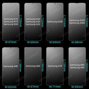 Image 3 - Di vetro per Samsung Galaxy A50 A70 A10 Protezione Dello Schermo In Vetro Temperato per Samsung A50 A70 A10 A30 A40 A20 A20e a30S M20 A60 A80
