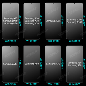 Image 3 - Glas für Samsung Galaxy A50 A70 A10 Screen Protector Gehärtetem Glas für Samsung A50 A70 A10 A30 A40 A20 A20e a30S M20 A60 A80
