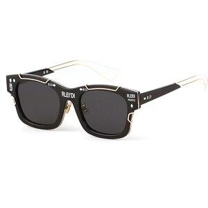 Luxury Pilot Square Sunglasses