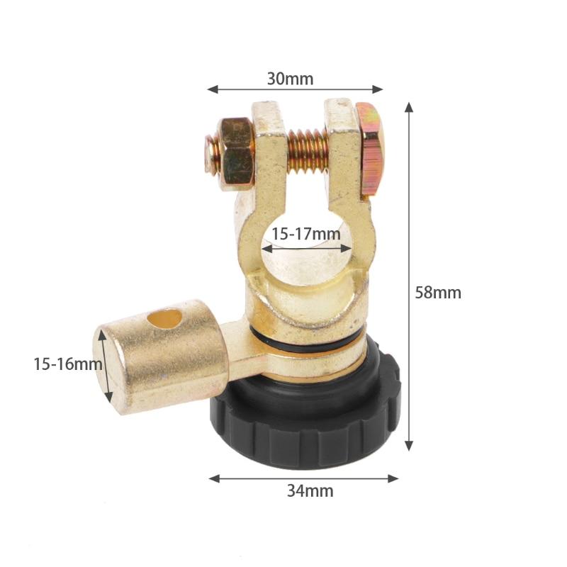 Клеммная колодка выключатель быстрого отключения для автомобиля грузовик часть L форма R2LC