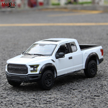 Maisto 1:24 Ford Raptor F150 pickup Racing Convertible alloy car model simulation car decoration collection gift toy цена