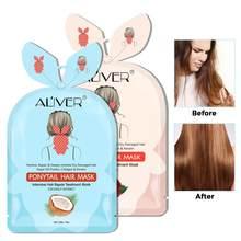 Włosy ogon maska pielęgnacyjna głębokie odżywianie membrana do włosów naprawa Tousle bifurkacja gładka maska do pielęgnacji włosów kobiety TSLM1
