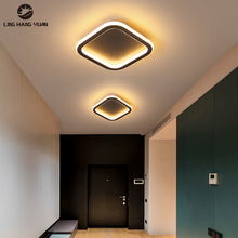 Modern Led Chandelier Black&White Small Ceiling Chandelier Lighting for Aisle Lamp Living room Dining room Kitchen Corridor lamp