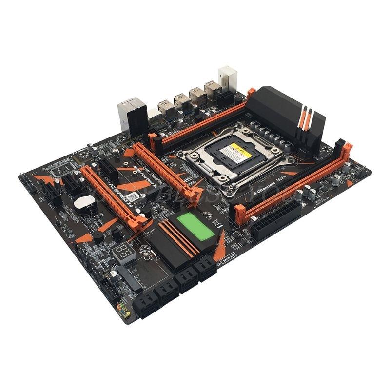X99 LGA2011 V3 Профессиональный 4 канальный DDR4 настольный компьютер материнская плата модуль|Материнские платы|   | АлиЭкспресс