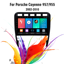Eastereggs 2DIN Android Car Radio For Porsche Cayenne 2002 2010 WIFI GPS 네비게이션 FM 블루투스 차량용 멀티미디어 플레이어 헤드 유닛