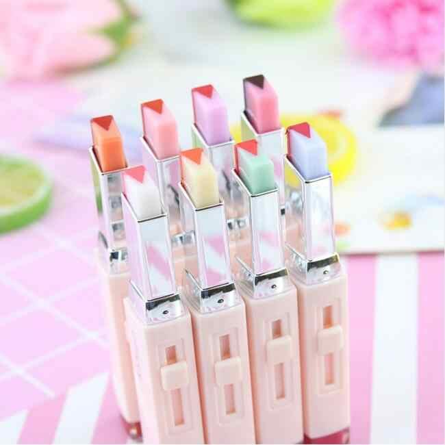 Брендовая помада, блеск для губ, помада, градиентный цвет, корейский стиль, Два цветовой оттенок, для губ, долговременная помада, бальзам для губ