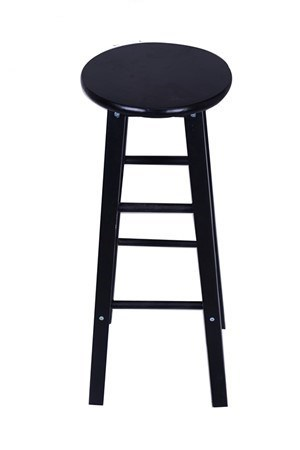 Nordic Bar Stool Modern Minimalist  Chair Solid Wood Home   Creative Fashion High