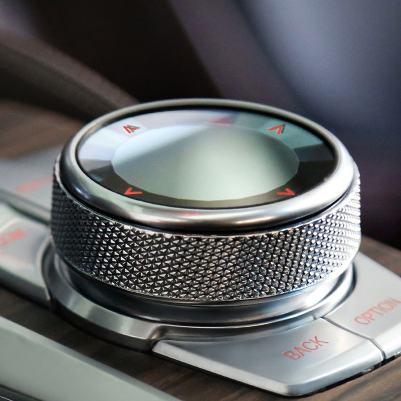 Car Multimedia Button Knob Switch Cover Sticker For BMW 1 2 3 5 6 7 Series X1 X3 F10 F20 F30 F80 F32 F22 F25 F15 F16 F86 F48 F46