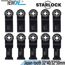 NEWONE Starlock 32*40/50Mm HCS Kéo Dài Thời Gian Chính Xác Nhật Bản Răng Dao Động Dụng Cụ Lưỡi Cưa Điện Đa Dụng Cụ renovator Lưỡi Cưa