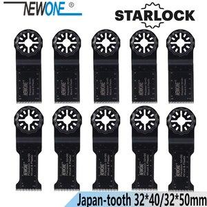 Image 1 - NEWONE Starlock 32*40/50Mm HCS Kéo Dài Thời Gian Chính Xác Nhật Bản Răng Dao Động Dụng Cụ Lưỡi Cưa Điện Đa Dụng Cụ renovator Lưỡi Cưa