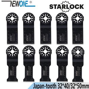 Image 1 - NEWONE Starlock 32*40/50mm HCS 길게 정밀 일본 치아 진동 도구 톱 블레이드 전원 멀티 도구 Renovator 톱 블레이드