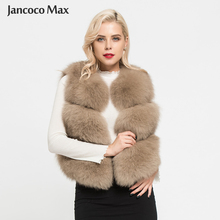 Vest Real-Fox-Fur Waistcoat Gilets Natural Fur Women's Fashion Luxury S1673 Lady New-Arrivals