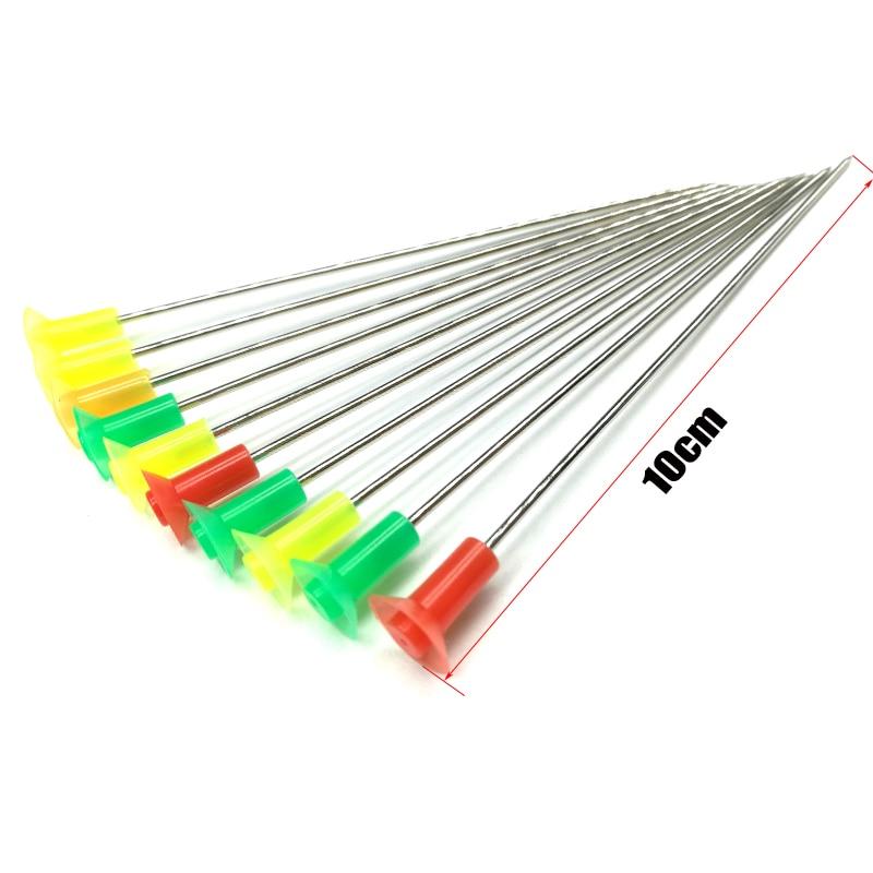 (5Bag/lot)50pcs Arrows Blow Darts/needlse Suitable For Blow Gun Calibre 1cm Length 10CM Fit Leopard M50 BlowGun .40 Calibre