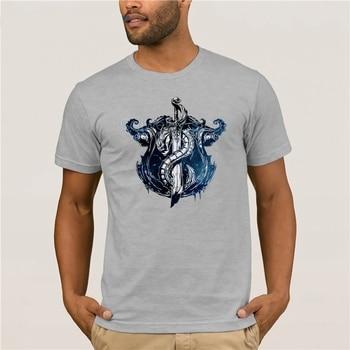 Fashion T Shirt 100% Cotton League of Legends BILGEWATER CREST T-Shirt quality fashion short sleeve men tshirt 1