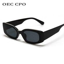 OEC CPO Luxury Square Sunglasses Women Men Brand Designer Fashion Small Sun Glasses Classic Vintage Shades UV400 Oculo O122