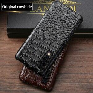 Image 4 - Caixa Do Telefone de couro Para Samsung S20 Ultra S10 S10e S9 S8 S7 Nota 8 9 10 Lite 20 A20 A30 a50 A51 A70 A71 A8 Plus Capa Crocodilo