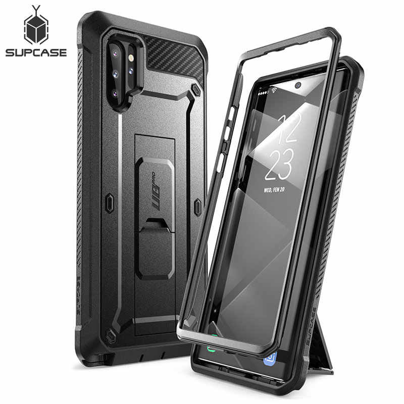 For Samsung Galaxy Note 10Plus Case Cover (2019) SUPCASE UB Pro Full-Body Rugged Holster Cover WITHOUT Built-in Screen Protector
