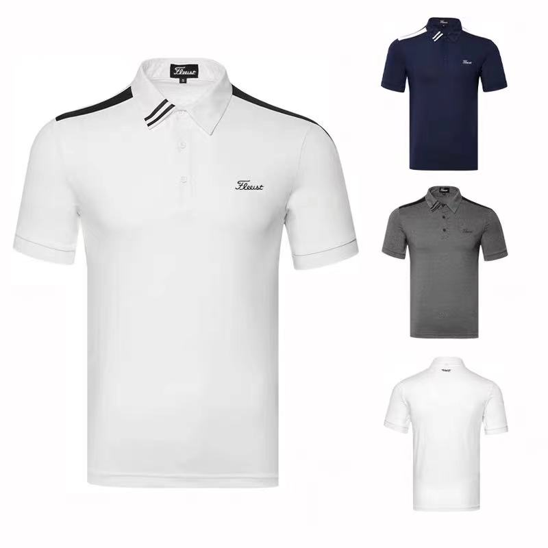 Golf clothes men's clothing breathable quick-drying outdoor sports short sleeve golf t-shirt casual style 2021