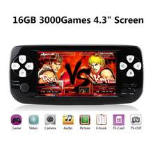 PAP K3 Plus Video Game Console For CP1/GBA/FC/NEO/GEO Portable 16GB 64Bit Multifunction Handheld Game Player Built-in 3000 Game(China)