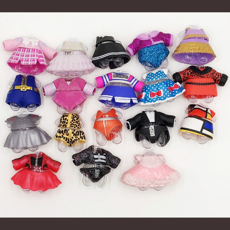 100% Original LOL Doll Clothes Series 4 A Large Number Of Styles Lol Dolls Clothes On Sale LOL Dolls Collection Drop Shipping