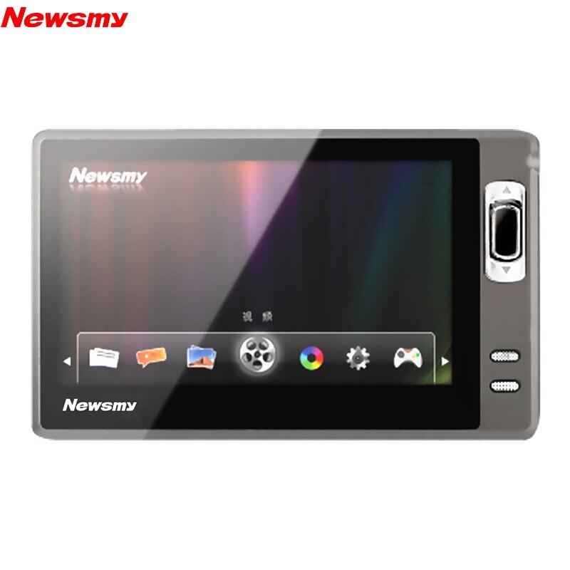 Newsmy A11HD + Portable MP5 4.3 pouces grand écran MP4 Radios Walkman E-book 1080P HD lecteur de musique vidéo Support OTG 64 GB/128 GB TF