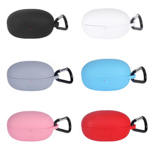 Silicone Storage Case Cover for Xiaomi 1MORE Stylish True Wireless In-Ear Headphones Shockproof Protective Carrying Bag