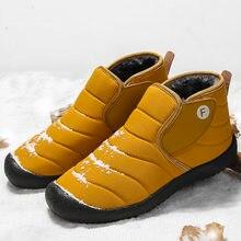 Мужские ботинки легкая зимняя обувь для мужчин зимние водонепроницаемая