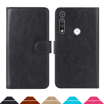 Luxury Wallet Case For Motorola Moto G Fast PU Leather Retro Flip Cover Magnetic Fashion Cases Strap