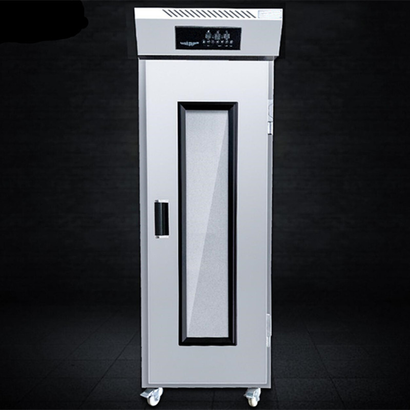 16trayes Bread Fermentation Dough Proofer Cabinet One Door Toast Bread Making Dough Fermenting Proofing Machine