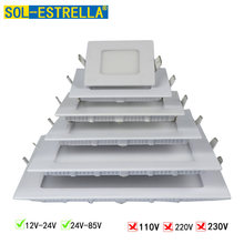 Квадратный светодиодный потолочный светильник энергосберегающая