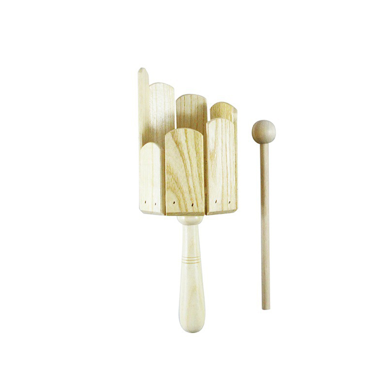 Orff Percussion Kids Wooden Multi Sound Tube Rod Musical Instrument Kindergarten Toy