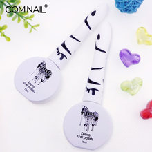 COMNAIL 15ml UV Gel Nagellak Top UV LED Gel Nail Art Varnish Hybrid Soak Off Gel Lak Lucky nail Verf Gel Polish Gellak(China)