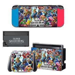 Image 5 - Dock chargeur support de support protecteur décran autocollant de protection housse de peau pour Nintendo Switch NS Console Joy con coque de manette