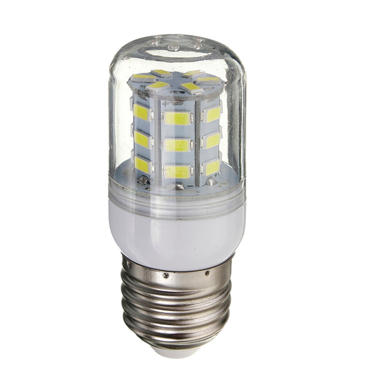 White Lighting <font><b>E27</b></font> DC <font><b>12V</b></font> 27 <font><b>LEDs</b></font> Light <font><b>Bulb</b></font> 5730 SMD Super Bright Energy Saving Lamp Corn Lights Spotlight <font><b>Bulb</b></font> image