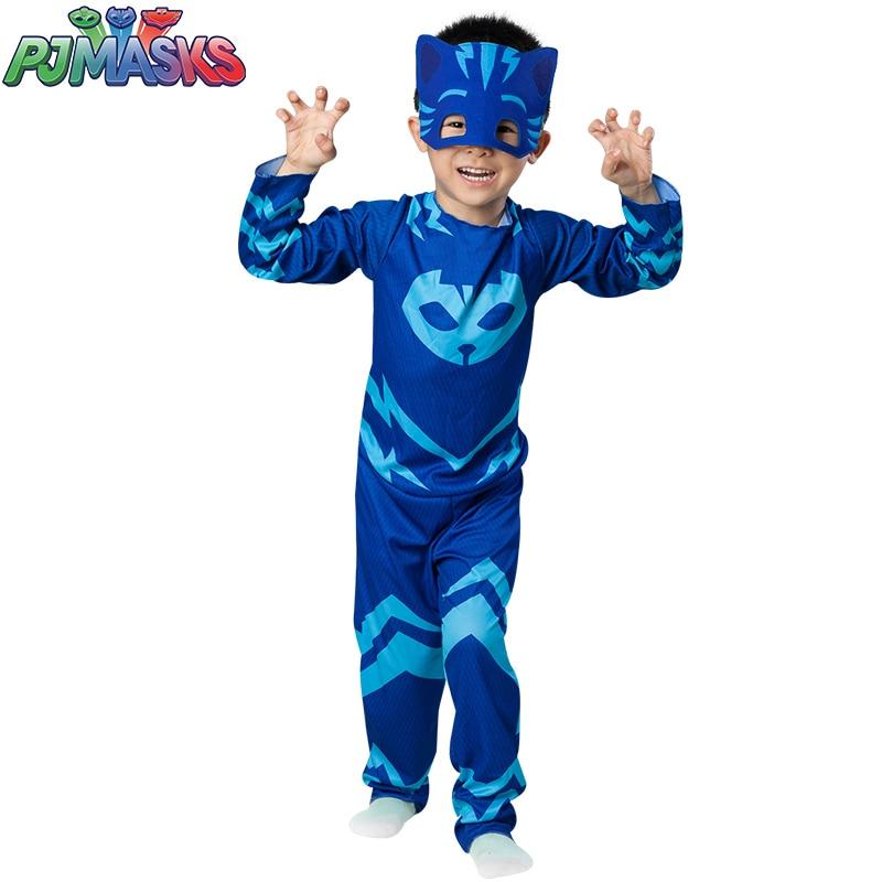 PJ Masks Toys Children Birthday Party Christmas Halloween Cosplay Costume Pj Mask Catboy Gekko Owlette Clothes Kids Games Gifts