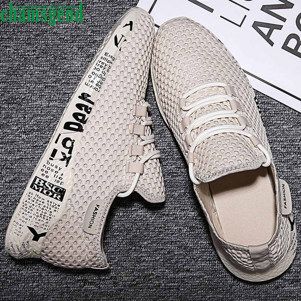 CHAMSGEND Sneakers Lightweight Shoes Fashionable Comfortable Walking Sneakers Hot Sell Breathable Shoes Sport Feminino Zapatos