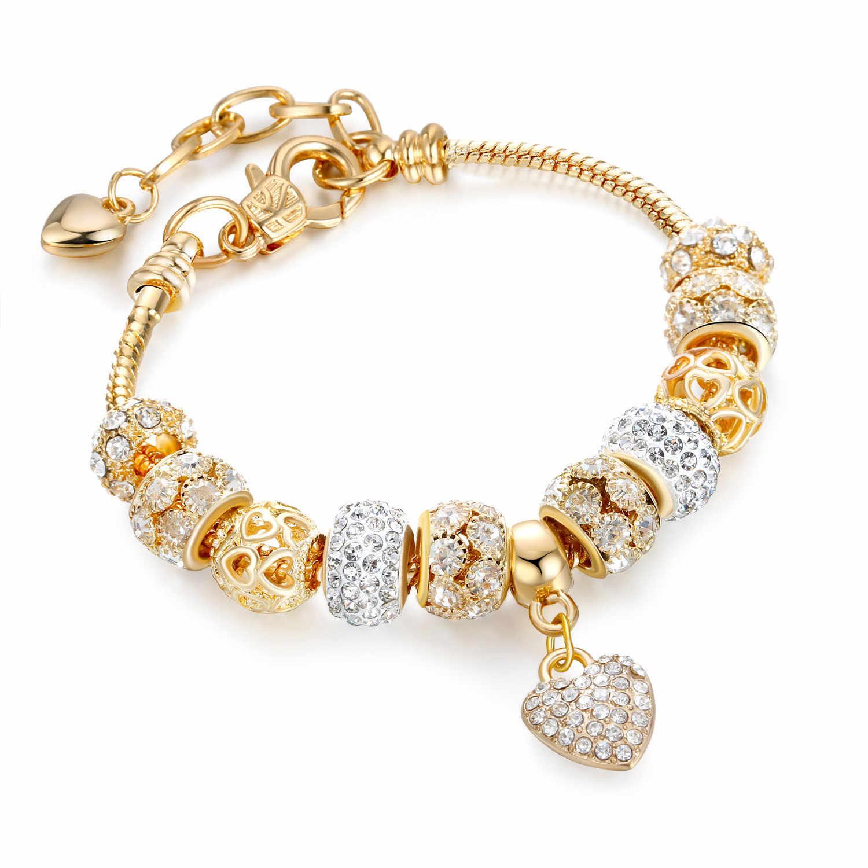 Special Offer Pandora Silver Gold Bracelet Up To 64 Off