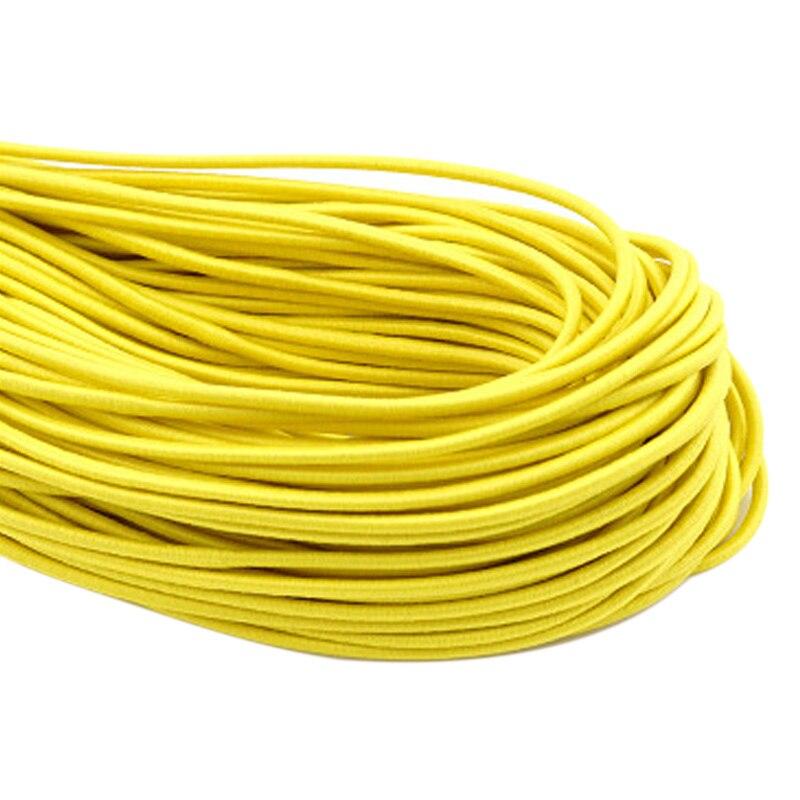 3mm Flat Elastic Band Cord Stretch Ribbon Rope Trim DIY Sewing Craft 10M Skinny