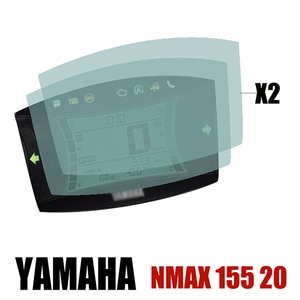 Image 1 - Per Yamaha NMAX 155 N MAX 155 2020 moto centro tachimetro strumento Scratch Cluster protezione dello schermo pellicola protettiva