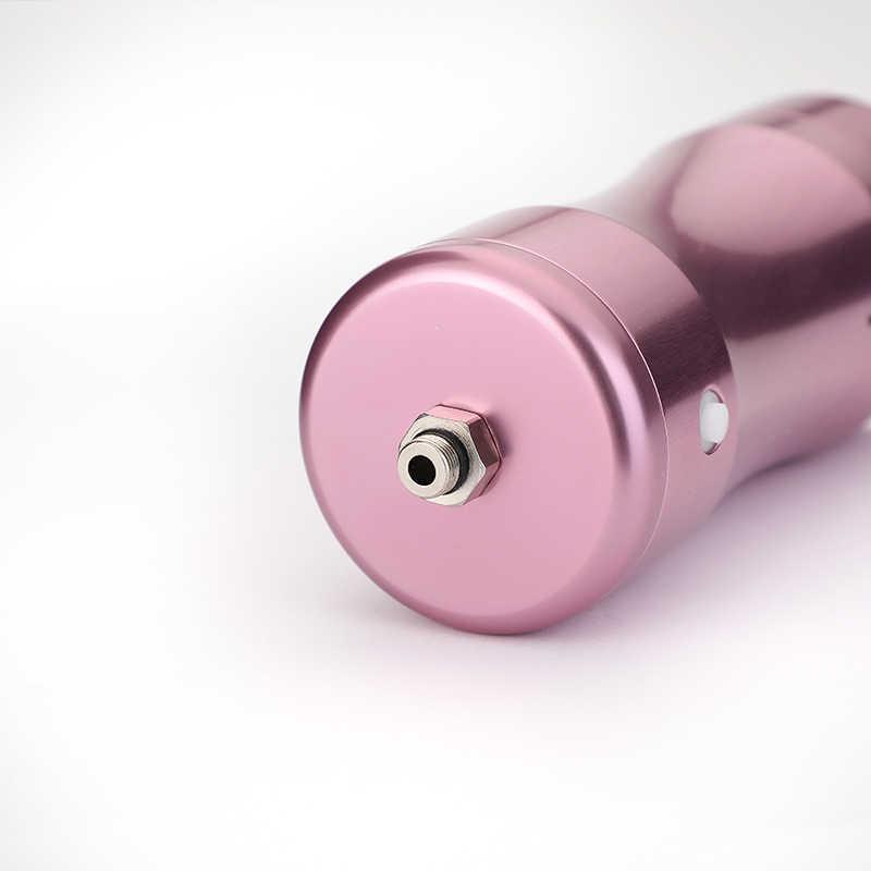 USB çift eylem hava fırçası seti kompresörü taşınabilir hava fırça boya püskürtme tabancası Nail Art tasarım dövme kek pembe hava pompası