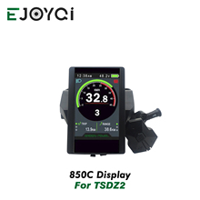 Ejoyqi Tongsheng TSDZ 2 Mitte Antrieb Motor LCD Display 850C Farbe Screen Display für Elektrische E Bike Fahrrad Conversion Kit