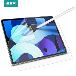 ESR 2PCS Writtable Film for 2020 iPad Air 4/8th/iPad Pro 12.9 11 10.5 9.7 Inch iPad 7 6 iPad Air 3/2/1 Screen Protector