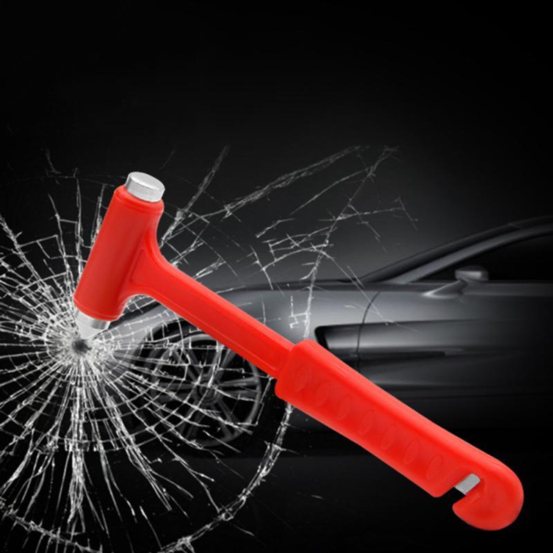 1pcs Mini Car Safety Hammer Auto Emergency Glass Window Breaker Seat Belt Cutter Life-Saving Escape Car Emergency Tool