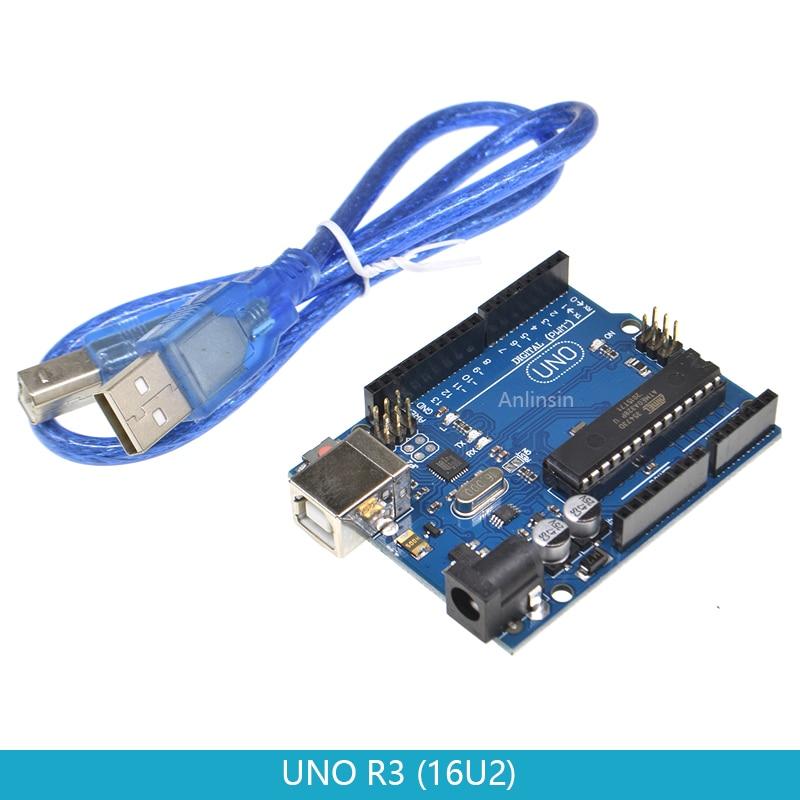 UNO R3 макетная плата ATmega328P PU ATMEGA16U2 MEGA16U2 16U2 для Arduino UNO R3 с кабелем mega328p|Интегральные схемы|   | АлиЭкспресс