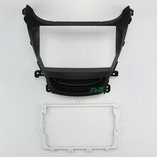 9 Inch Auto Audio Frame Gps Navigatie Fascia Panel Auto Dvd Plastic Frame Fascia Is Geschikt Voor 2014 Hyundai Elantra/I 35