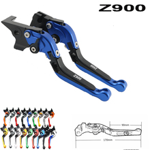 цена на For Kawasaki Z900 Z 900 2017 2018 CNC Adjustable Folding Extendable Motorcycle Brake Clutch Levers
