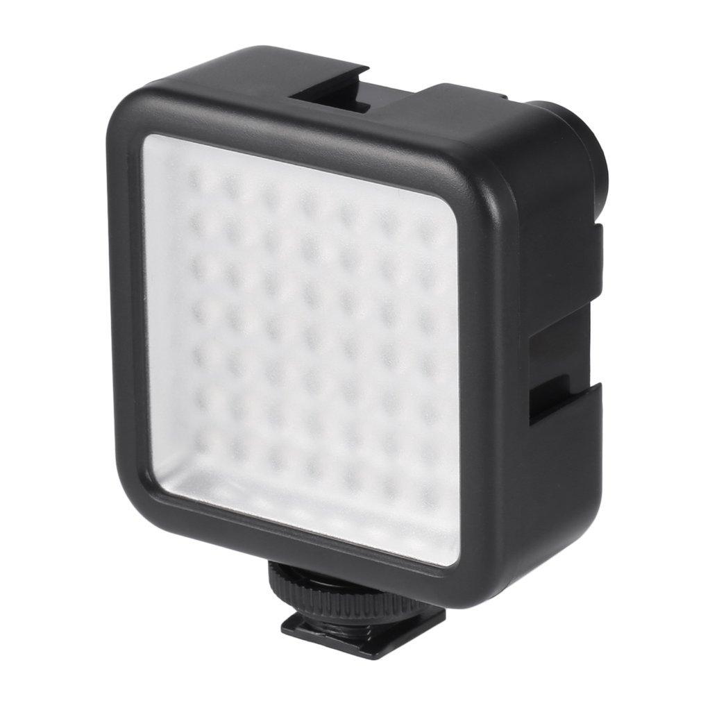 Высокое качество длительный срок службы 5,5 Вт 800lm 6000K Мини Портативная 49 Светодиодная лампа для освещения видео фотографический фото светил...